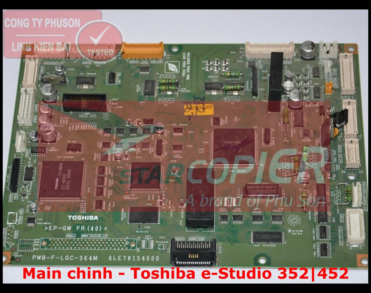 Main chính Toshiba e-Studio 352/452