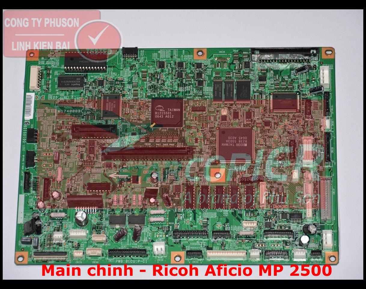 Main chính Ricoh Aficio MP 2500