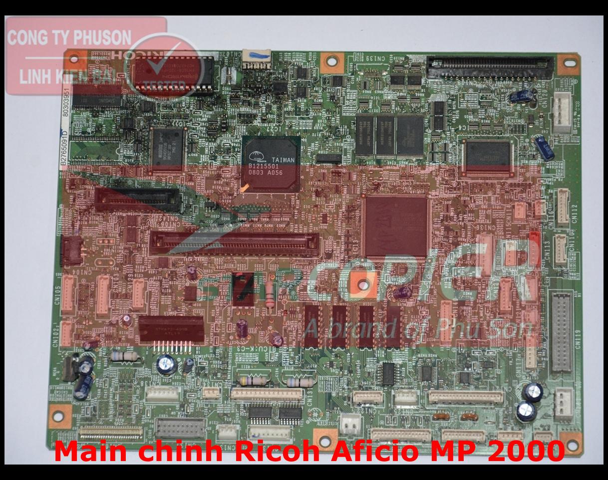 Main chính Ricoh Aficio MP 2000