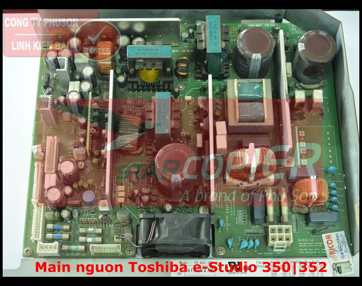Main nguồn Toshiba e-Studio 350/352