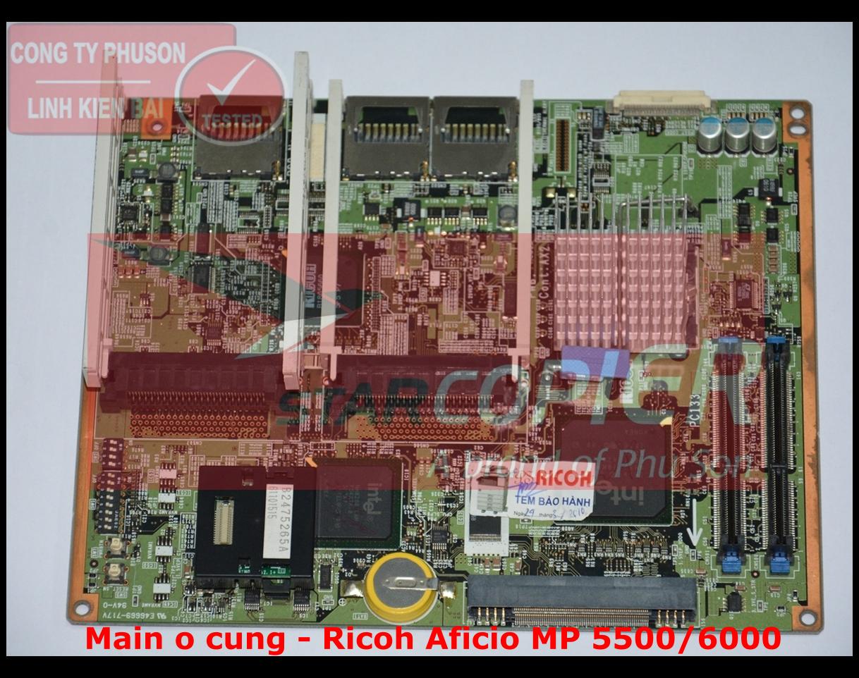 Main ổ cứng Ricoh Aficio MP 5500/6000
