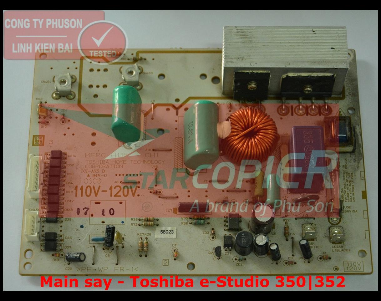 Main sấy Toshiba e-Studio 350/352