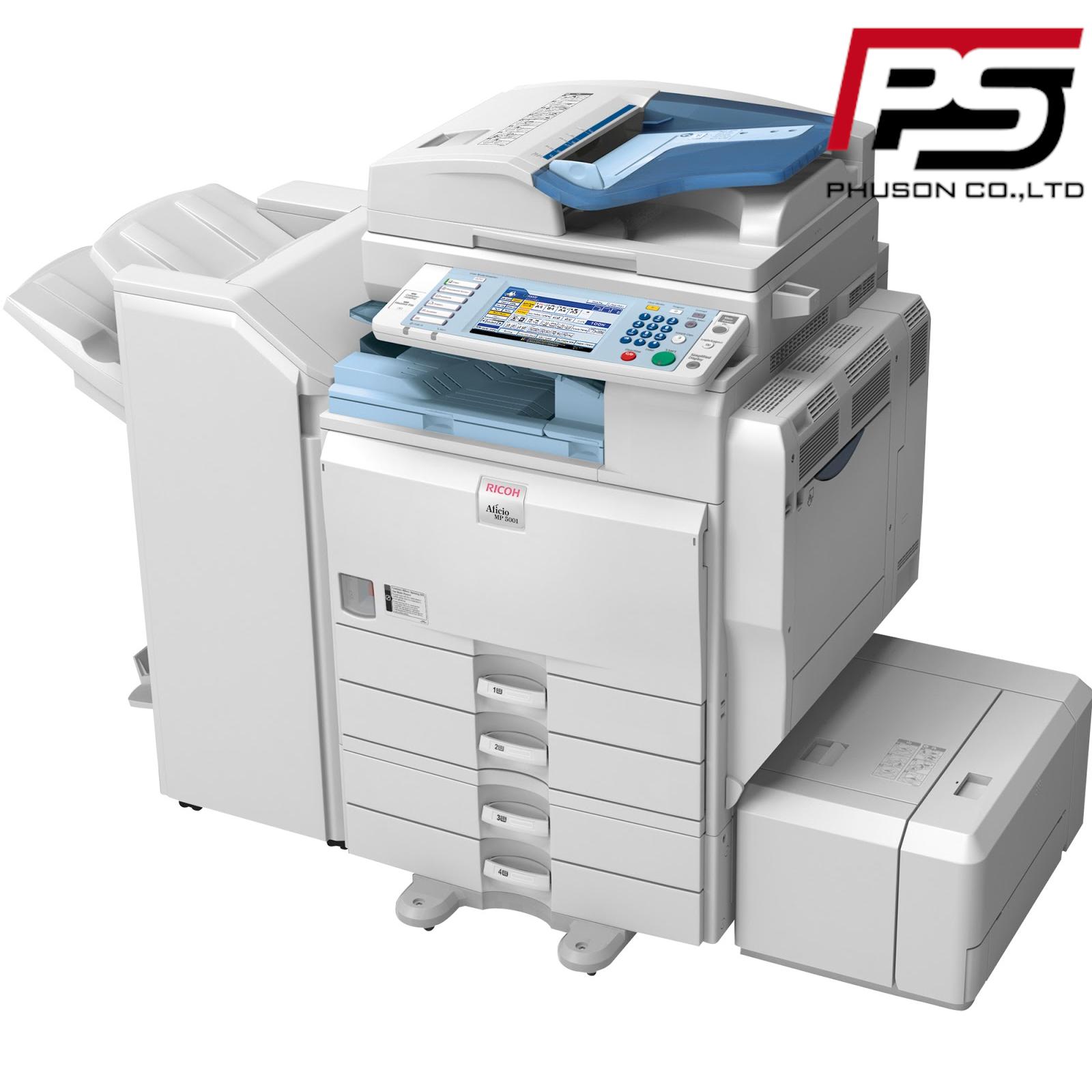 Thuê máy Photocopy Ricoh Aficio MP 5000B