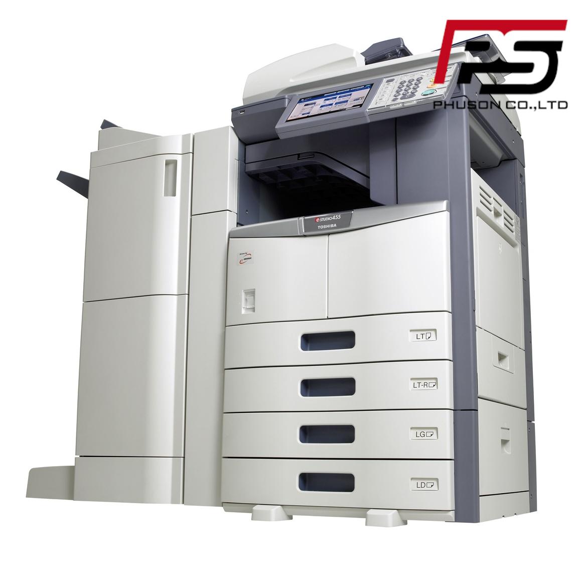 Thuê máy Photocopy Toshiba e-Studio 455