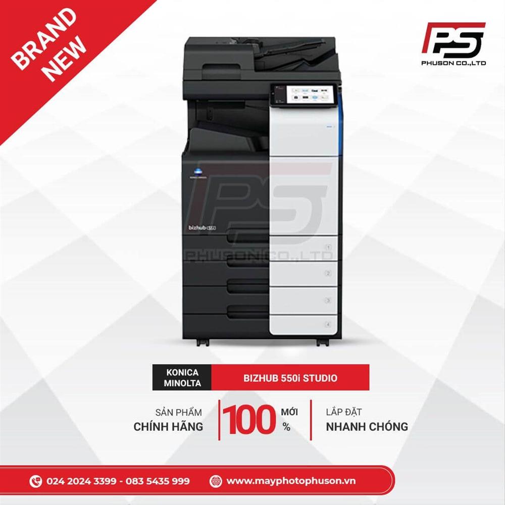 Máy Photocopy Konica Minolta Bizhub 550i