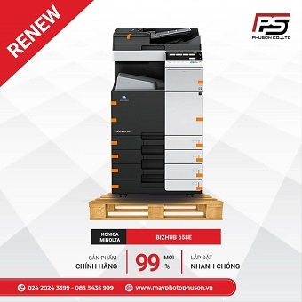 Máy Photocopy Konica Minolta Bizhub 658e Refurbished