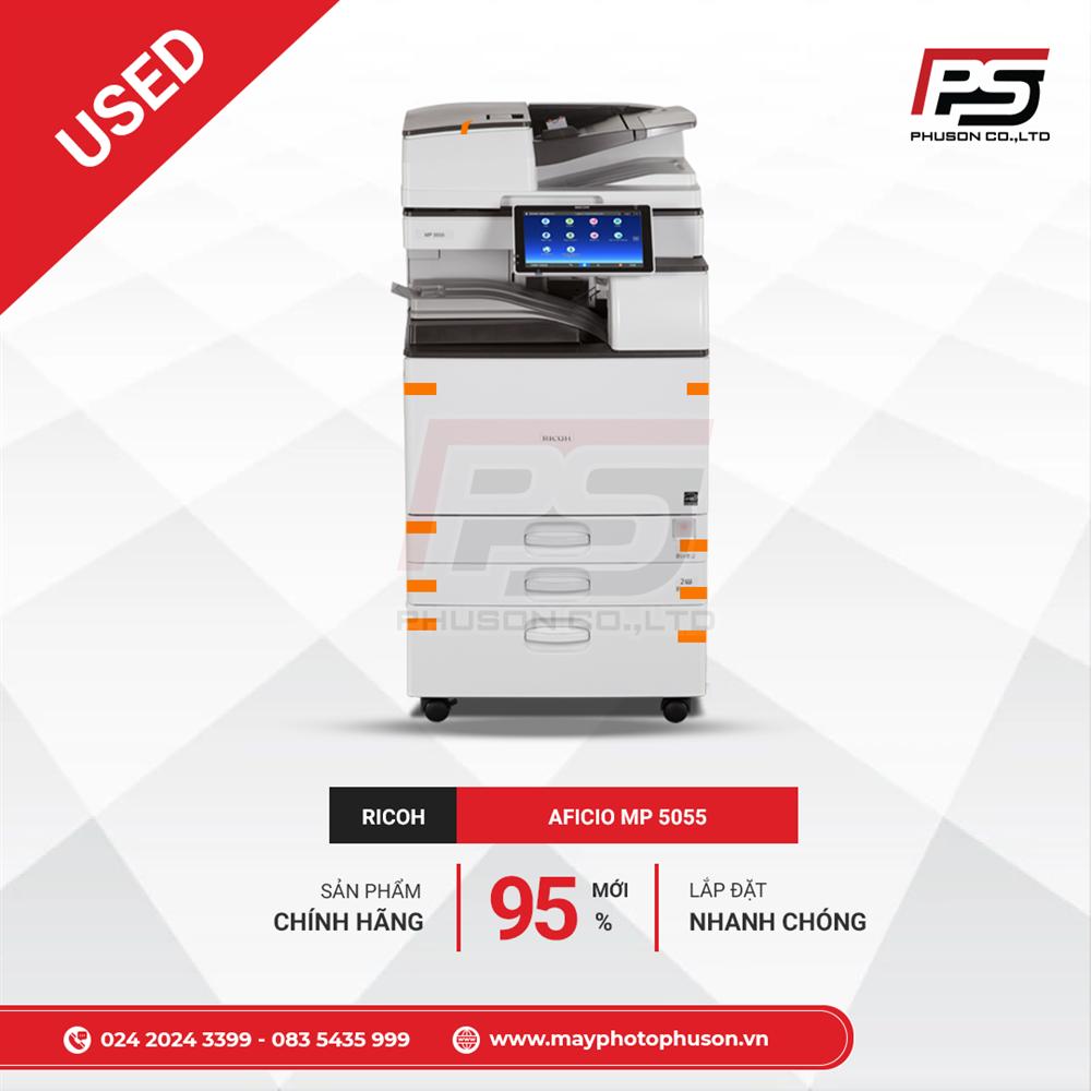Máy Photocopy Ricoh Aficio MP 5055