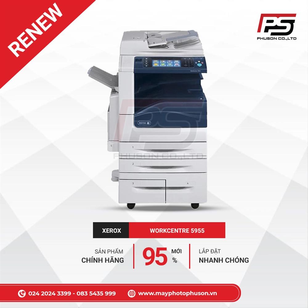 Máy Photocopy XEROX WorkCentre 5955 Refurbished