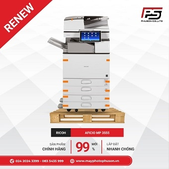 Máy Photocopy RICOH MP 3555 Refurbished