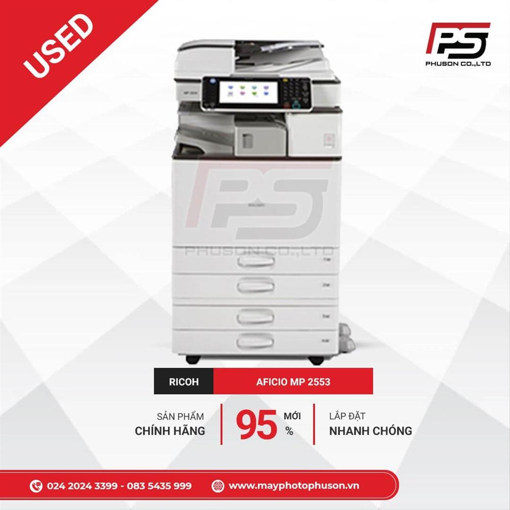 Máy Photocopy Ricoh Aficio MP 2553