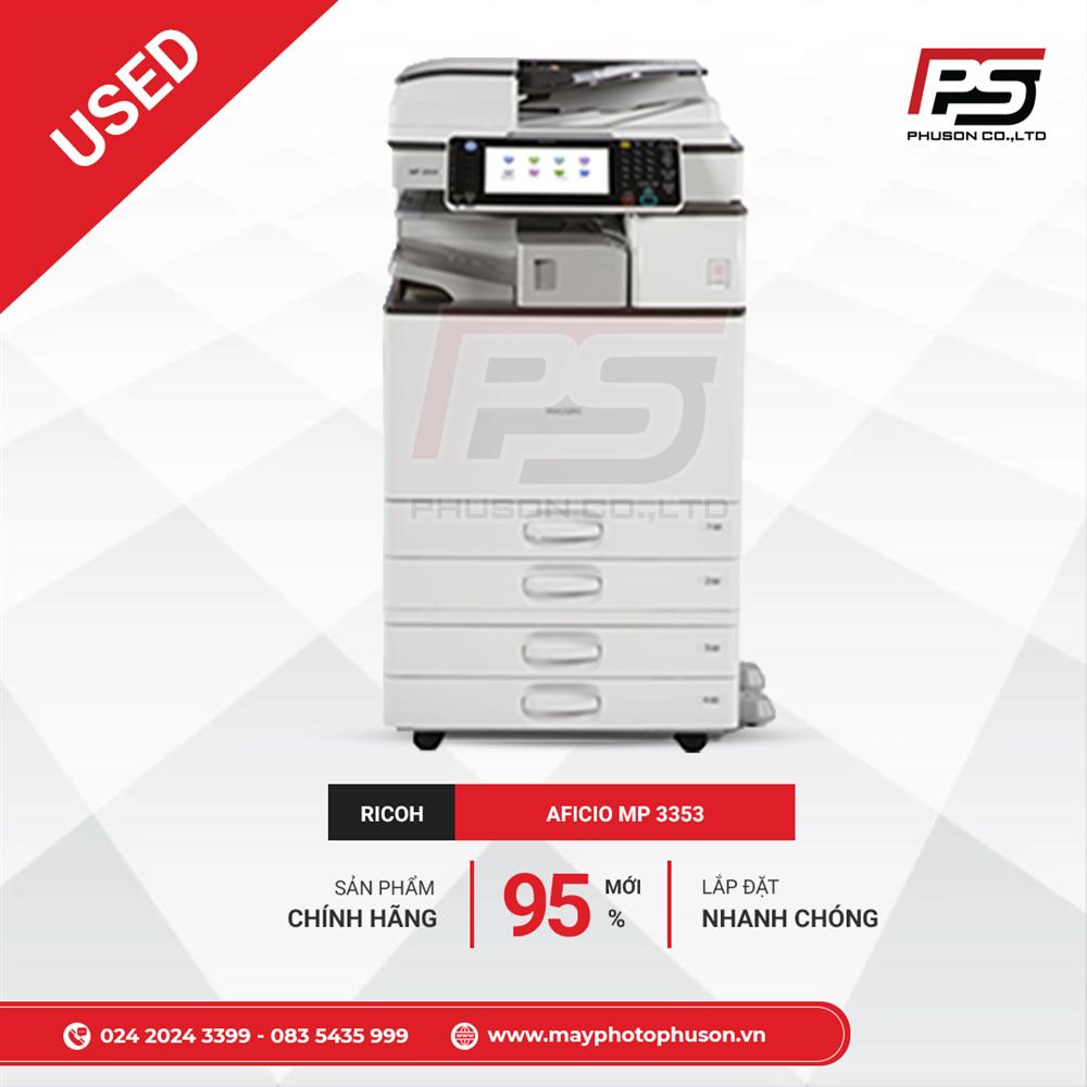 Máy Photocopy Ricoh Aficio MP 3353