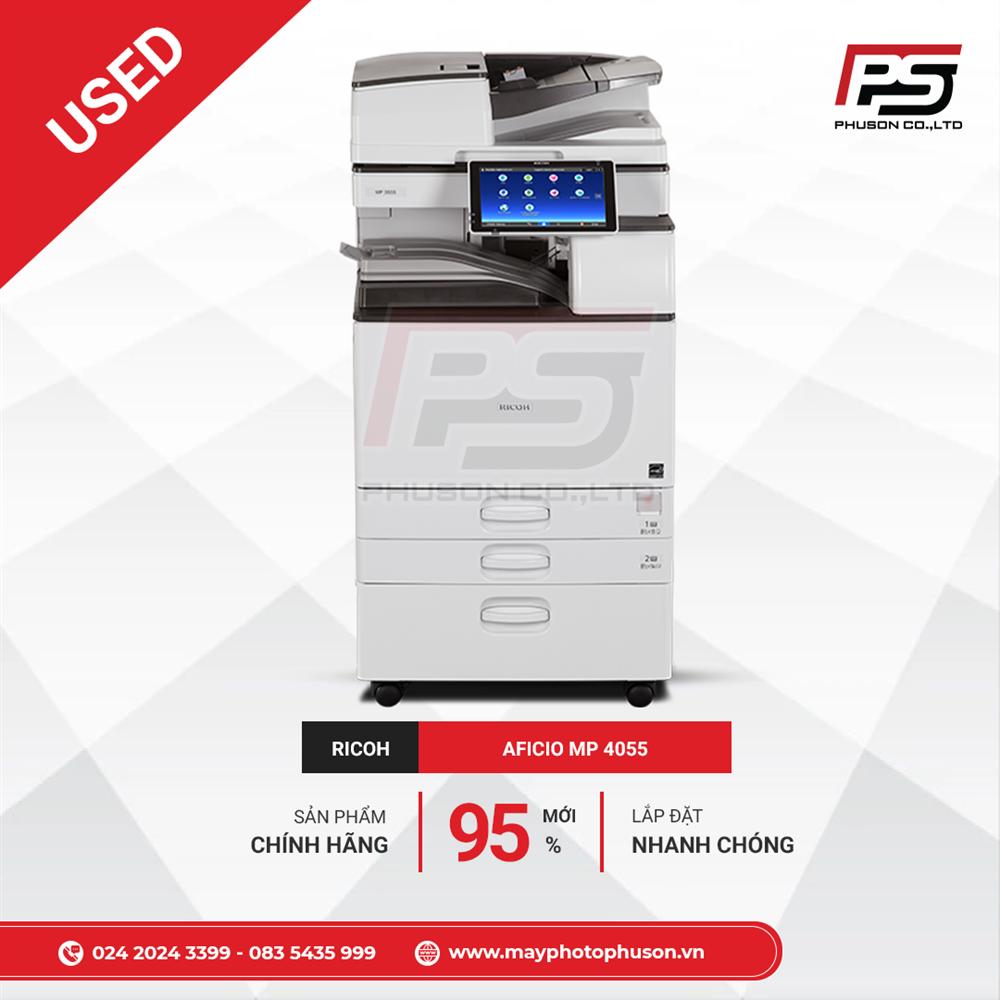 Máy Photocopy Ricoh Aficio MP 4055