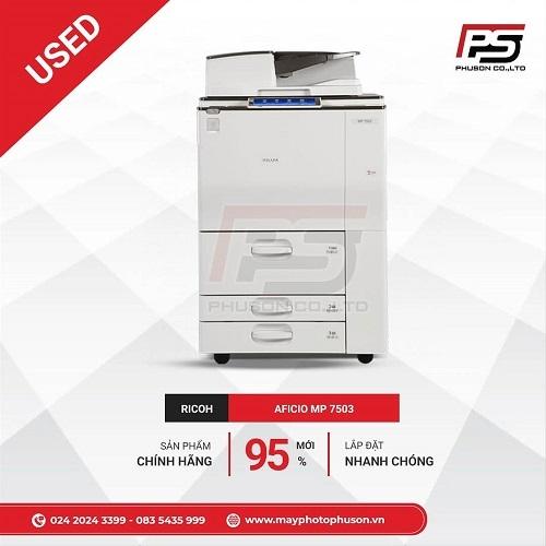 Máy Photocopy Ricoh Aficio MP 7503