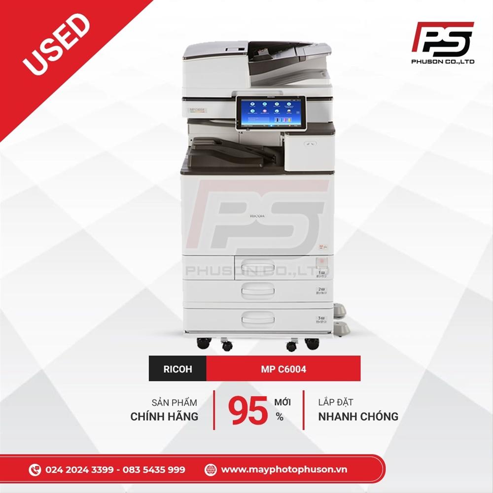 Máy photocopy Ricoh Aficio MP C6004