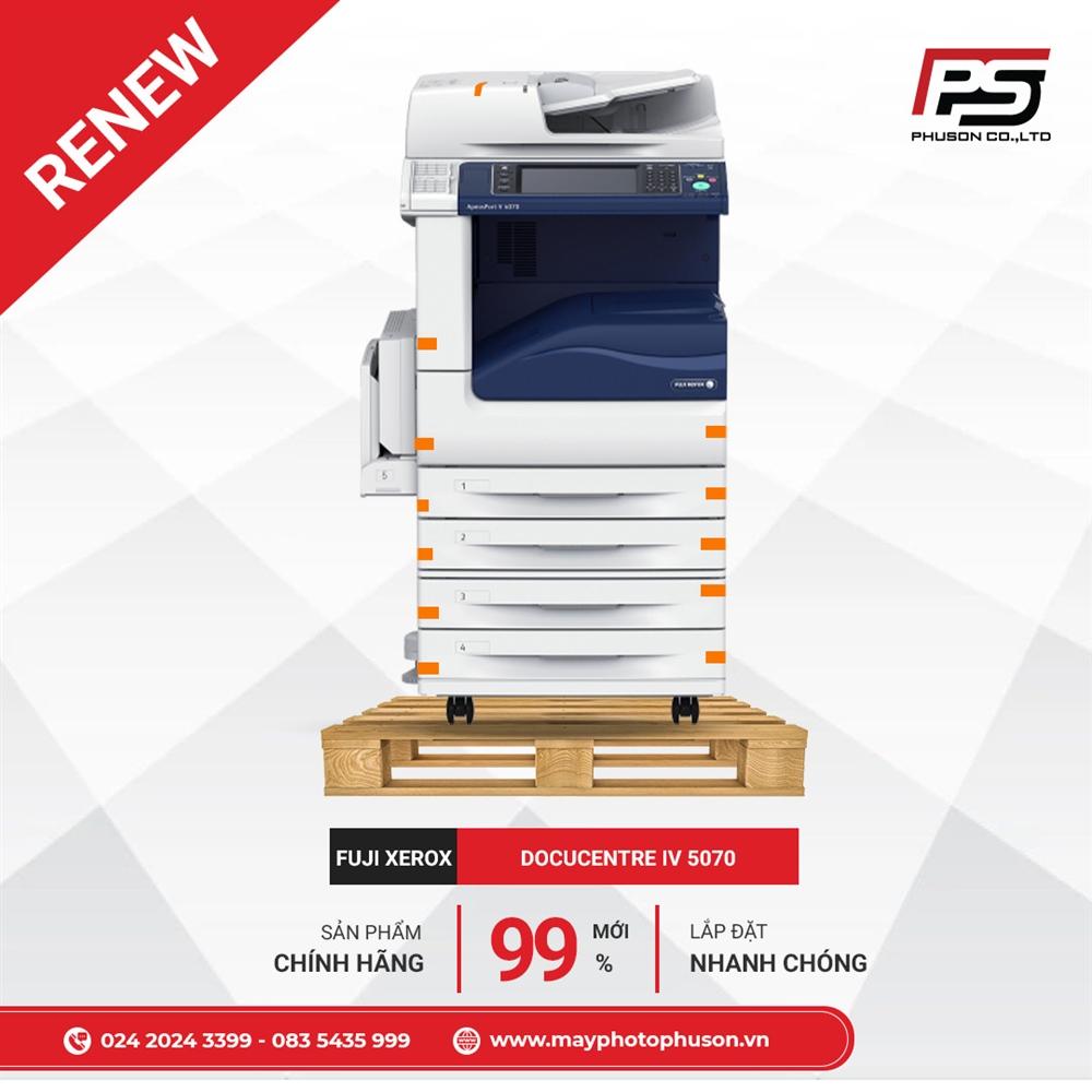 Máy Photocopy Fuji Xerox ApeosPort IV 5070 Refurbished