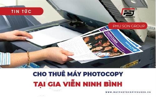 Dịch vụ cho thuê máy photocopy giá rẻ tại Gia Viễn, Ninh Bình