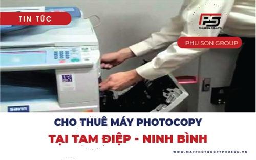 Cho thuê máy photocopy chất lượng cao tại Tam Điệp, Ninh Bình