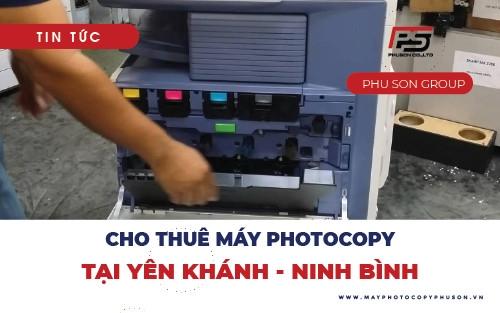Thuê máy photocopy tại Yên Khánh, Ninh Bình trọn gói không phát sinh