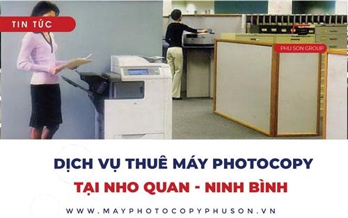 Tìm địa điểm thuê máy photocopy tại Nho Quan, Ninh Bình