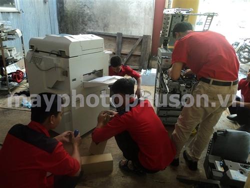 Sửa chữa máy photocopy uy tín tại Hà Nội, bảo hành tận nơi bảo trì trọn đời