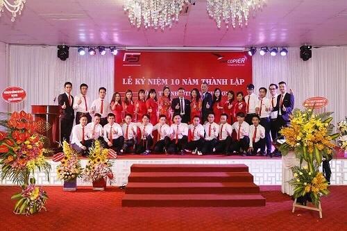Long trọng Lễ kỷ niệm 10 năm thành lập Công ty Phú Sơn